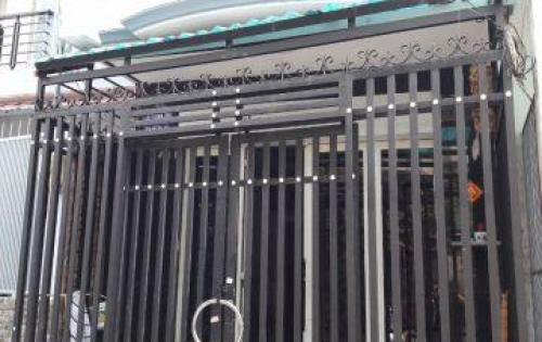 Bán nhà hẻm đường Bến Phú Lâm, Phường 9, Quận 6 Giá 4,6 tỷ