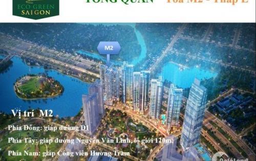 10 Suất ưu tiên cuối block m2 đẹp nhất dự án eco green saigon quận 7 Lh 0938677909