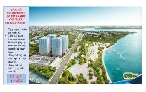 Căn hộ smarthome Q7 Riverside complex - Tích hợp hơn 50 tiện ích nội khu