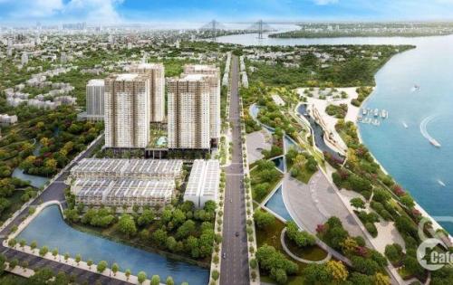 Căn hộ ven sông quận 7, liền kề Phú Mỹ Hưng, Giá 2.1 tỷ/ 67 m2 - 2PN,2wc -  nội thất hoàn thiện cơ bản, NH cho vay 70%. LH 0909306786