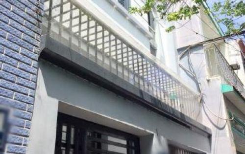 Bán nhà 1 lầu mới đẹp hẻm 63 Lưu Trọng Lư quận 7.