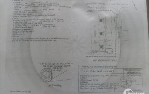 Cc Phú Lợi p7q8 80 m2 hỗ trợ vay lầu 5 tháng bộ