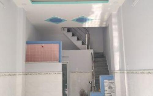 nhà mới bán gấp 1 trệt 2 lầu, hẻm 8m, SHCC, giá 2,1 tỷ