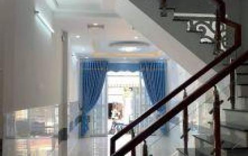 Bán nhà 1 trệt 3 lầu mới xây Quận Bình Tân, ( Gần AEON Tân Phú)