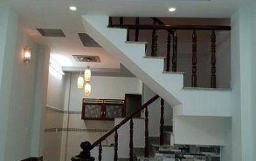 Bán nhà mới Hồ Văn Long 3 lầu. trệt 3 lầu, hẻm 6m, 1 tỷ 950 tr