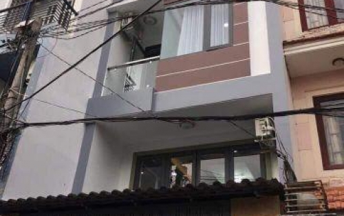 Bán nhà trệt, lững, 3 lầu. HXH 6m. 76m2. nở hậu