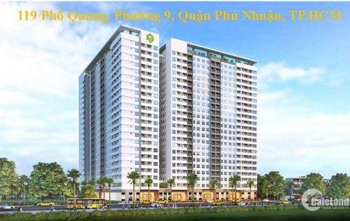 cần tiền bán gấp căn hộ golden mansion phú nhuận 86m2, 3 phòng ngủ, giá 4.1 tỷ