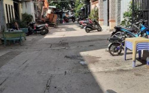Bán nhà hẻm 8m / Nguyễn Quang Diêu P,Tân Qúy QTân Phú DT4x20 1 trệt gác lửng giá 5,3 tỷ TL