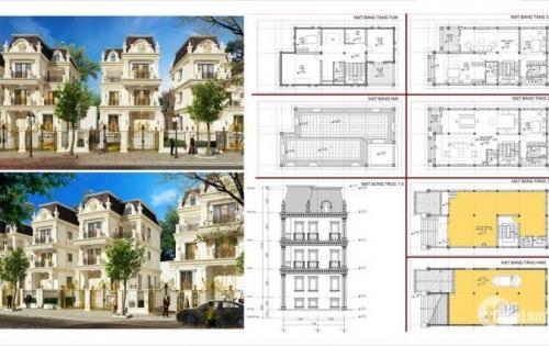 Bán nhà mặt đường 21,5m, 3 tầng, xây mới có 1 tầng hầm thiết kế hiện đại