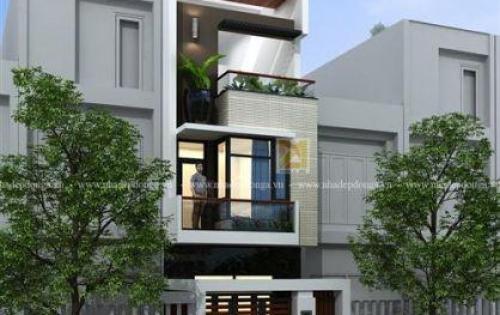Bán nhà khu Võng Thị, 40m2, 6 tầng mặt tiền 3.6m, thiết kế mới cực đẹp.