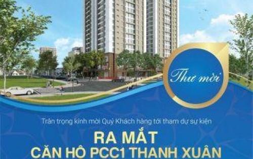 Mở bán dự án PCC1 Triều Khúc, Thanh Xuân, giá hấp dẫn CĐT từ 26tr/m2