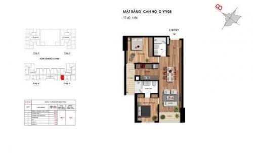 Căn hộ số 08 tầng trung tòa D dự án Imperia Garden Thanh Xuân, Hà Nội