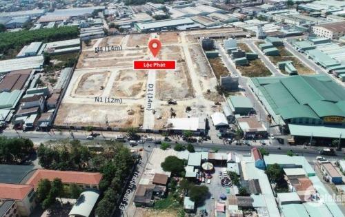 Đất mặt tiền đường 22/12, Thuận An,sổ hồng riêng, 64m2, sở hữu ngay với 700 tr