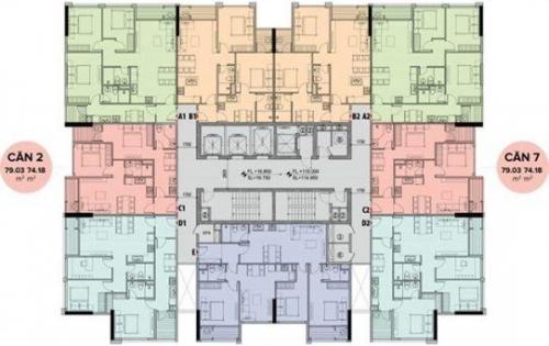 Bán căn hộ chung cư cao cấp mặt đường Mễ Trì cách Kengnam chỉ 400m giá chỉ 35 triệu/m2