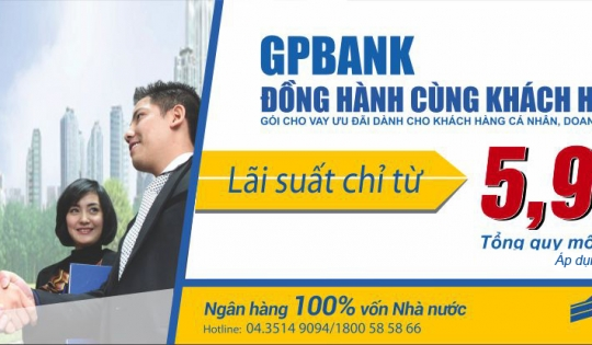 GPBank triển khai chương trình