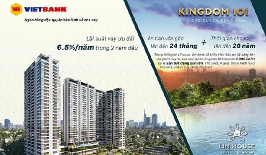 Vay mua căn hộ cao cấp kingdom 101 lãi suất 6,5%