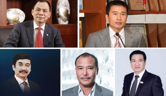 Top 5 doanh nhân tạo nên giá trị lớn nhất cho thị trường bất động sản Việt Nam