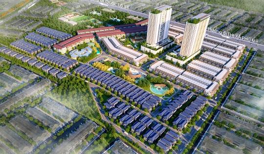 Khu dân cư Phú Mỹ Gold City Bà Rịa – Vũng Tàu