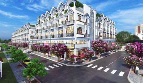 Nhà phố Lux Home Gardens Bình Tân
