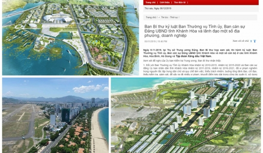 Dự án trung tâm hành chính mới tỉnh Khánh Hòa vẫn bất động