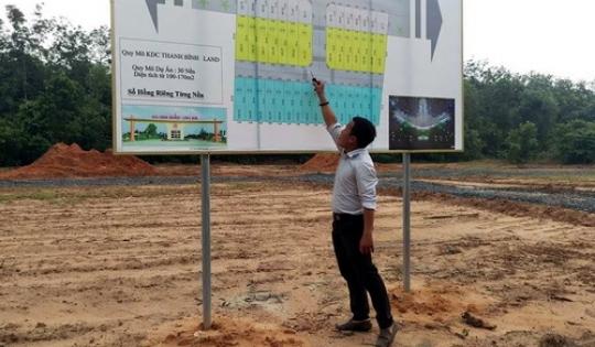 Loạn rao bán đất nền quanh sân bay Long Thành