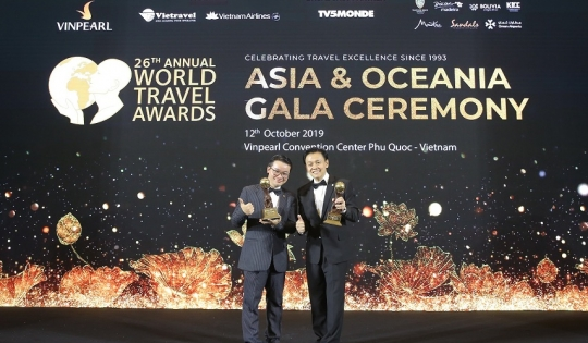 Fraser Suites Hanoi của BIM Land đạt giải World Travel Awards 2019