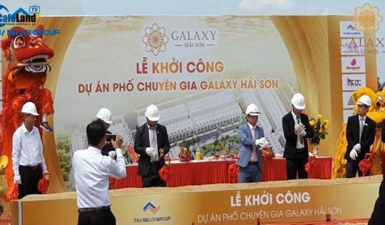 Bản tin dự án tuần 3 tháng 6: Khởi công dự án phố chuyên gia Galaxy Hải Sơn