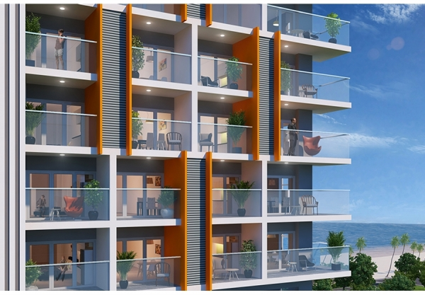 Khu căn hộ nghỉ dưỡng Ariyana Smart Condotel 2