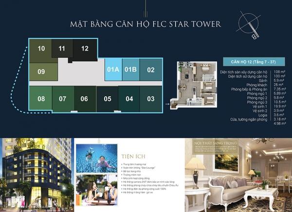 Khu căn hộ FLC Star Tower 2