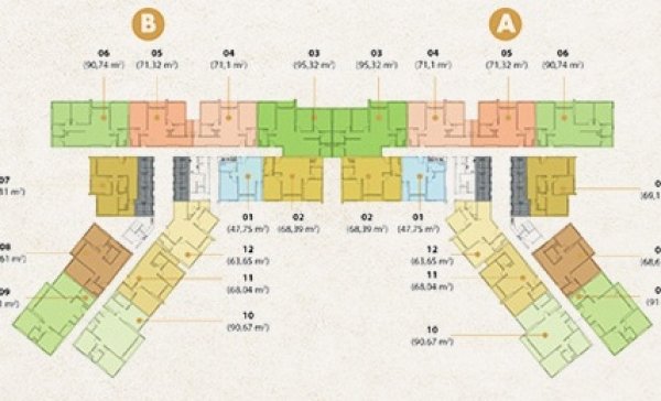 Bản đồ dự án căn hộ Masteri An Phú Quận 2