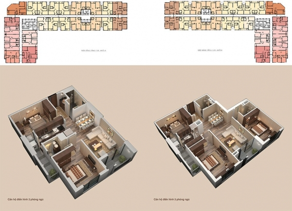 Căn hộ mẫu dự án căn hộ Roman Plaza