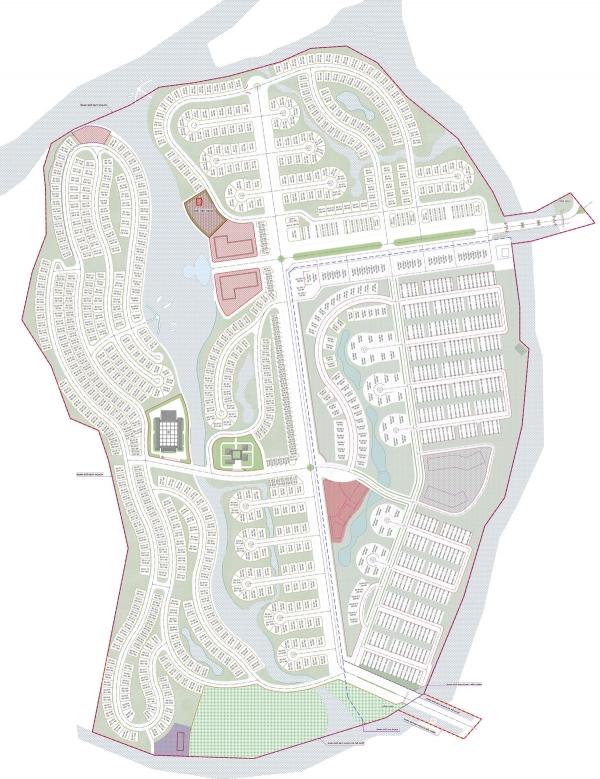 Bản đồ dự án Ecocharm Premier Island Đà Nẵng