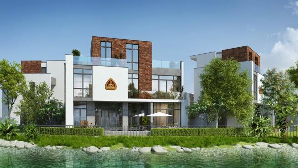 Phối cảnh Villa đơn lập dự án Ecocharm Premier Island Đà Nẵng