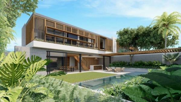 Phối cảnh biệt thự loại B tại dự án Sailing Club Resort Phu Quoc