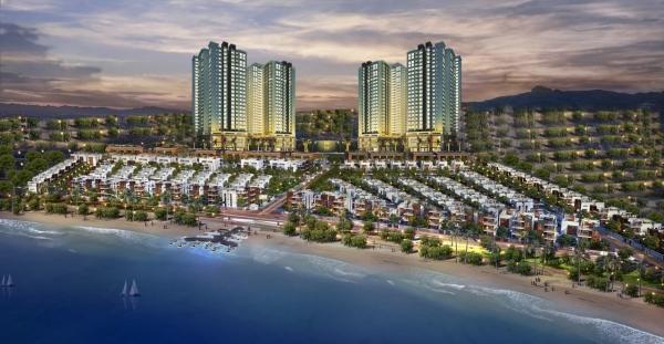 Phối cảnh tổng thể dự án Homeland Sunrise City Quảng Nam