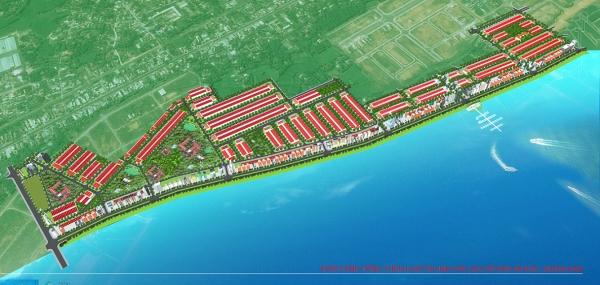 Phối cảnh tổng thể khu đô thị sinh thái vịnh An Hòa Quảng Nam