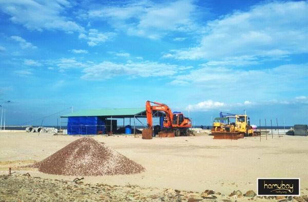 Thực tế tiến độ thi công khu dân cư Hamubay Phan Thiết