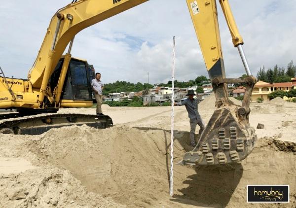 Hình ảnh thực tế tiến độ xây dựng dự án Hamubay Phan Thiết