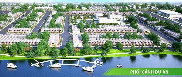 Phối cảnh tổng thể dự án Đất Nam Luxury