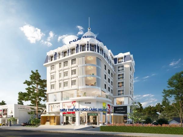 Phối cảnh tổng thể dự án Đà Lạt Travel Mall
