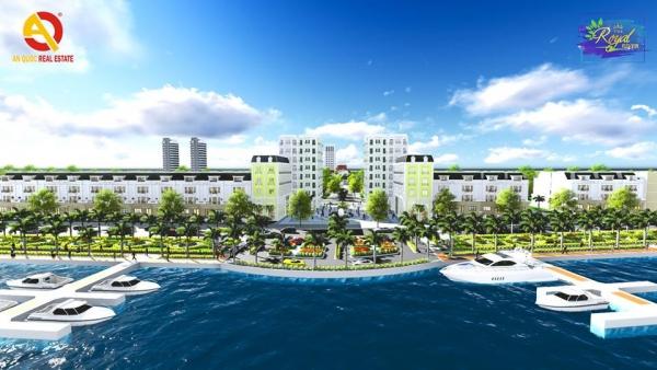 Phối cảnh bến du thuyền dự án The Royal River Quảng Nam