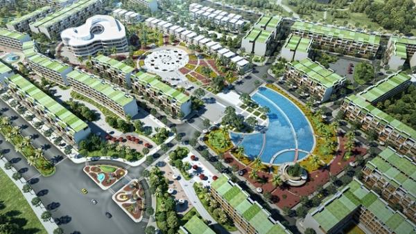 Phối cảnh dự án khu nghỉ dưỡng FLC Lux City Quy Nhơn
