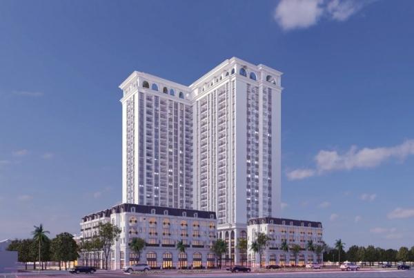Phối cảnh dự án căn hộ TSG Lotus Sài Đồng