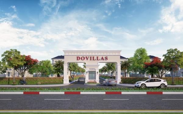 Phối cảnh dự án biệt thự Dovillas Bình Phước