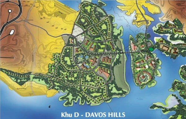 Phối cảnh khu D – Davos Hills