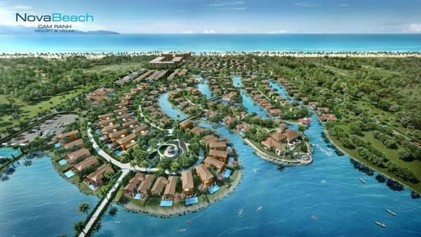 Phối cảnh dự án nghỉ dưỡng Novabeach Cam Ranh Resort & Villas