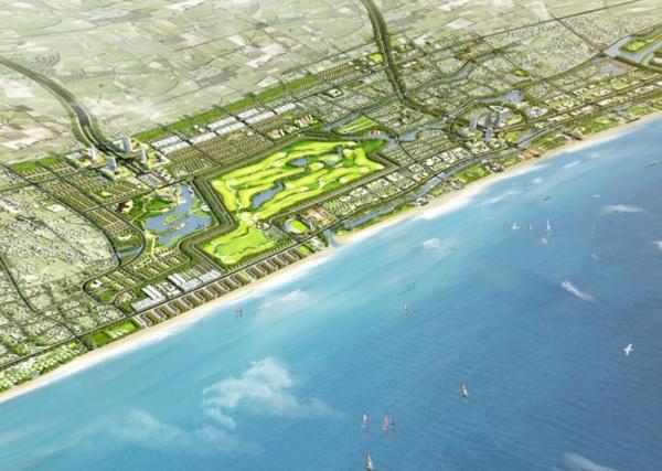 Phối cảnh dự án Xuân Thành Paradise Golf & Resort Hà Tĩnh