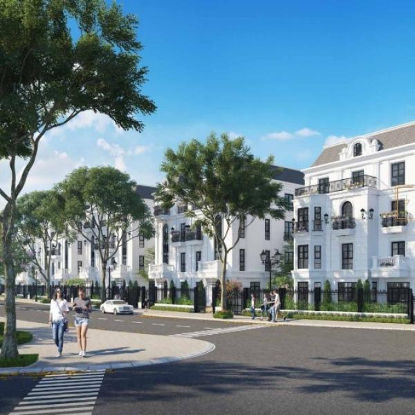 Phối cảnh mẫu biệt thự trong dự án dự án Elegant Park Villa