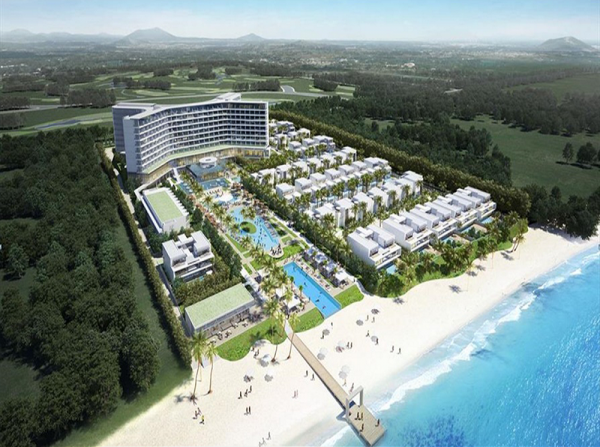 Phối cảnh dự án Shilla Stay Resort tỉnh Quảng Nam