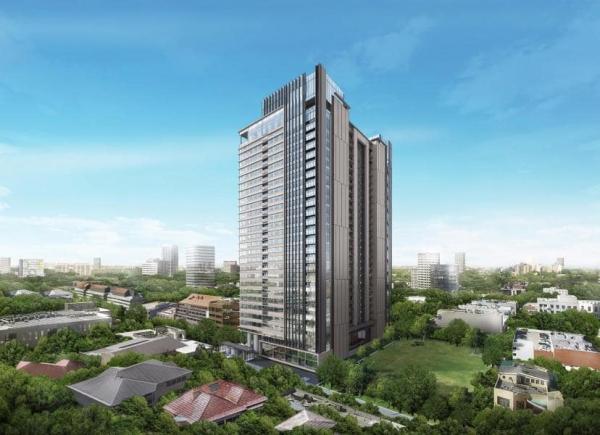 Phối cảnh tổng thể dự án căn hộ cao cấp The Marq quận 1